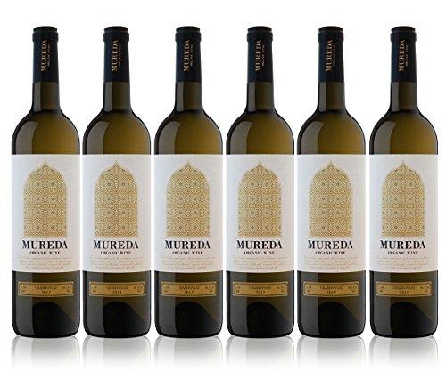 Vino Bianco Spagnolo ECOLOGICO 100% Chardonnay - 3 medaglie d'oro. 6 Bottiglia 75 c