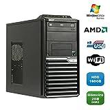 PC ACER Veriton M421G Tour Athlon 4850B 2.5Ghz X2, 2 GB DDR2 160 GB, WIFI, Win Vista