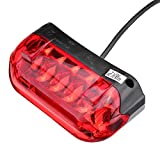 RISHIL WORLD 36V LED Tail Light Turn Signal Rear Lamp Modified Accessories for Scooter E-Bike