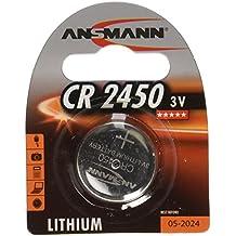Ansmann 5020112 CR 2450 - Pilas de botón, batería litio - 3V
