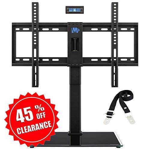 Mounting Dream TV Ständer Höhenverstellbar, TV Standfuss Schwenkbar Passend für die Meisten 42-60 Zoll LED, LCD, OLED und Plasma TVs mit Max VESA 600x400mm bis zu 45 kg, Kippschutzriemen Enthalten -
