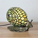 Gweat Schöne kreative Schnecke Tischlampe Kinder Lampe Nachtlicht