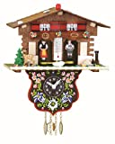 Trenkle Pendulette en Miniature de la Forêt Noire Maison Suisse Maison du Temps TU 807 PQ...