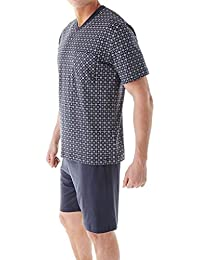 CALIDA Kurz Queens, Ensemble de Pyjama Homme