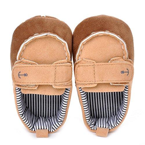 ESTAMICO , {Chaussures premiers pas pour bébé (garçon) Bleu bleu 3-6 mois kaki