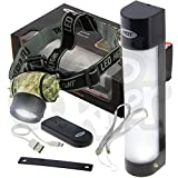 NGT Rechargeable Bivvy Tent Light Power Bank Remote Small Large WITH HEADTORCH