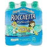 Rocchetta Acqua Naturale - Confezione da 6 Bottiglie x 500 ml