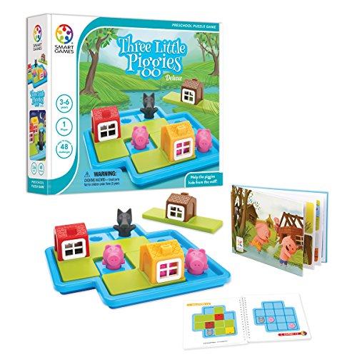 Smart games - Juego lógica Los Tres Cerditos Deluxe