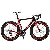 SAVADECK Velo de Route Carbone, Phantom 3.0 700C Vélo de Course...