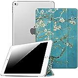 Fintie iPad Air 2 Funda - Soporte Plegable Smart Case Funda Carcasa con Stand Función y Auto-Sueño / Estela para Apple iPad Air 2 (iPad 6th Generación 2014 Versión) 9.7 Inch iOS Tableta, Blossom