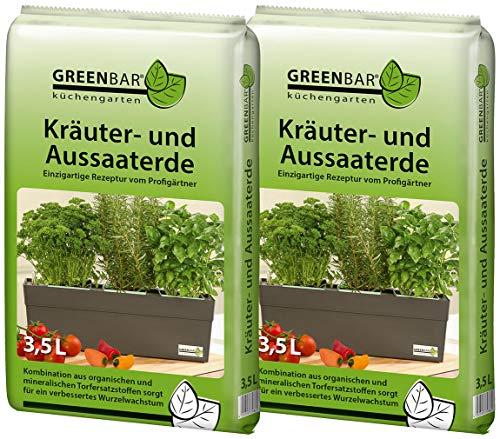 Greenbar Kräutererde Erdfarben