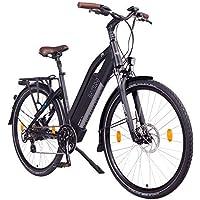"NCM Milano Bicicleta eléctrica de Trekking, 250W, Batería 48V 13Ah 624Wh (28"" Negro)"