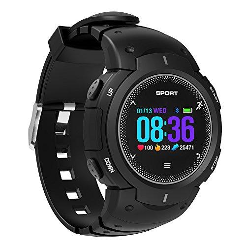 Reloj inteligente con Bluetooth, resistente al agua IP68, pantalla táctil sumergible 50 m con teléfono móvil desbloqueado con ranura para tarjeta Sim, reloj de pulsera inteligente, para Android, Samsung, iPhone, iOS, hombres, mujeres y niños