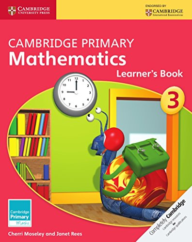 Cambridge Primary Mathematics Stage 3 Learner's Book (Cambridge Primary Maths) por Cherri Moseley, Janet Rees