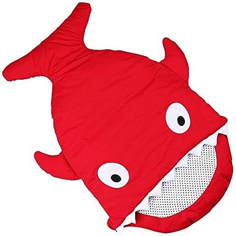 biubee neonati bambini sacchi coperta creative Shark