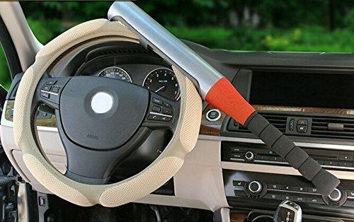 Ewin24 1x Anti-Theft-Baseballschläger Stil passt Für Defense Sicherheit Universal Car Lenkradschlösser Universal-