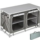 TecTake 800585 - Cucina da Campeggio Alluminio, Facile Montaggio, Minimo Peso - Modelli Differenti (Tipo 4 | No. 402922)