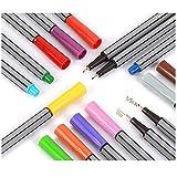 Marker Set 24 Stifte Art Marker 0,4 mm Zeichenstifte Malstifte ohne giftiges Material
