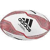 adidas NZRU R B Mini Rugby Ball, Boys, White/Black/Active Red/Legend Purple, 0