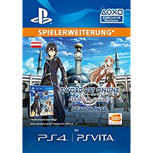Sword Art Online: Hollow Realization – Season Pass [PS4 Download Code – österreichisches Konto]