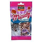 Animalerie Riga - Miouly Sushi Poulet/Poisson - Lot De 4 - Vendu par Lot - Livraison Gratuite en France...
