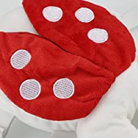 31 cm Baumwolle marienk/äfer SDGDFXCHN Baby-Kopfschutzkissen Kopfst/ützenkissen Engelsfl/ügel Schutzkissen Wandern Schulterschutz