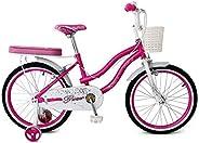 Upten Girl Flower Mechanical Rim Bicycle