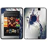 Diabloskinz Vinyl Adhesive Skin/Decal/Sticker for 7 inch Kindle Fire HD (2012) - Heartbeat