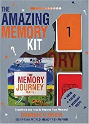 The Amazing Memory Kit: Everything You Need to Improve Your Memory! by Dominic O'Brien (2005-10-12)