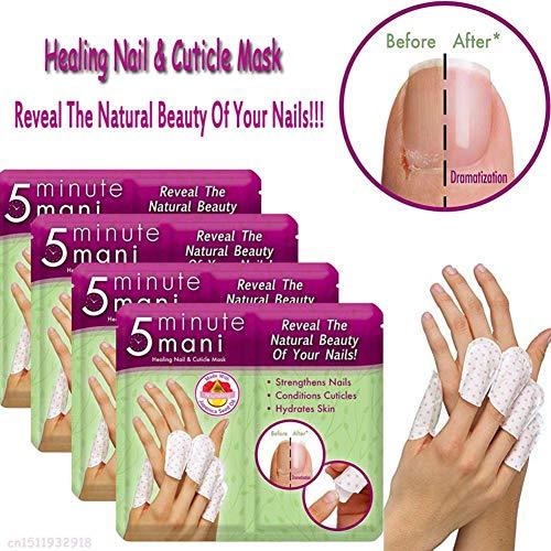Kindlyperson Toallitas removedoras de Esmalte de uñas, Cubierta de Limpiador de uñas para Reparar uñas, púas y Grietas