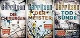NN. Band 1-3 der Thriller von Tess Gerritsen 1. Die Chirurgin & 2. Der Meister & 3. Todsünde