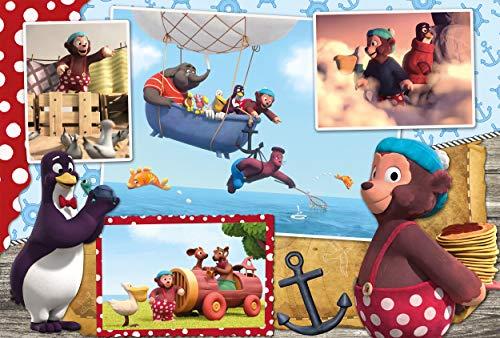 Schmidt Spiele Puzzle 56232petzi, Solo Moscas es Schöner, 60Piezas Niño Rompecabezas, Multicolor