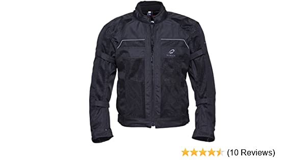 7ba6b780e86b Black Piston Motorcycle Jacket Black L (42)  Amazon.co.uk  Sports   Outdoors