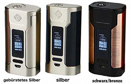 Preisvergleich Produktbild Steamax (Wismec) P. 228W Box Mod Farbe Brushed Silver
