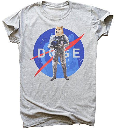 Astronaut Doge Will Make You Proud Herren T-Shirt XX-Large -