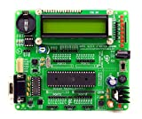 Silicon TechnoLabs ATMEL 8051 Quick Starter Development Board On-Board AT89S52,MAX232,16x2 LCD,DS1307 Support AT89SXX,P89V51RD2,SST89E516RD