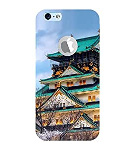 Vizagbeats Chinese Pagoda Bungalow Back Case Cover for Apple Iphone 6 with logo