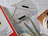 Navigationsbesteck / Übungskarten / Sportbootführerschein / Knotenbrett