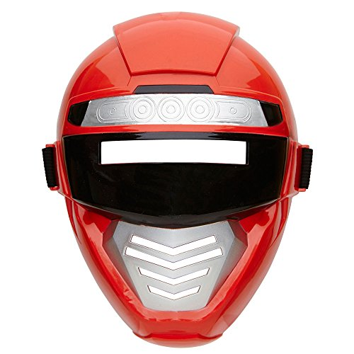Widmann 04861 - Power Roboter Maske für Kinder, One Size (Power Ranger Halloween)
