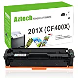 Aztech 1 Pack XXL Toner Kompatibel zu HP 201X CF400X Schwarz (HP 201A CF400A) Toner für Toner HP Color Laserjet Pro MFP M277DW Toner MFP M277DW HP MFP M277N Toner HP Color Laserjet Pro M252N M252DW