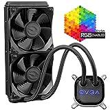 EVGA CLC 120/agua líquido de la CPU Cooler, RGB LED refrigeración 400-hy-cl12-v1 280mm