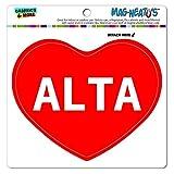 Graphics and More Mag-Neato 's-TM Auto Kühlschrank Vinyl Magnet I love Herz Namen Buchse A Alic, Alta