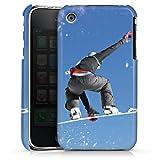Apple iPhone 3Gs Housse étui coque protection Snowboard Saut Sport D'Hiver