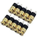Psmgoods® 3,5 mm Stereo Jack Panel Mount Anschluss 10 Stück