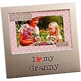"""I Love My Granny 6"""" x 4"""" Aluminium Frame - FA518GY"""