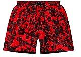 Calvin Klein Medium Surf Short 59128W0-001 Reversible rot/schwarz, Größe L/6