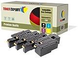 4er Set TONER EXPERTE® Premium Toner kompatibel für Dell 1250c, 1350cn, 1350cnw, 1355cn, 1355cnw, C1760nw, C1765nf, C1765nfw, C17XX