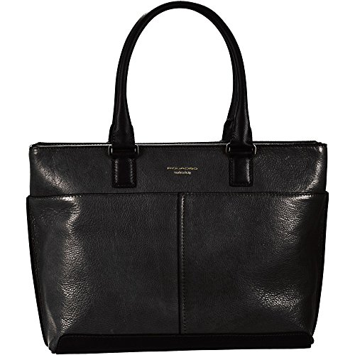Piquadro BD3336IT5/N Archimede Shopping Bag, Nero