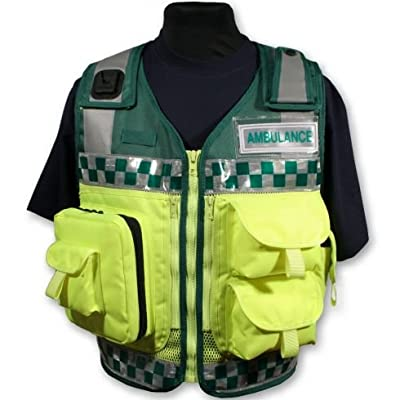 Green and Yellow Paramedic Ambulance Response vest