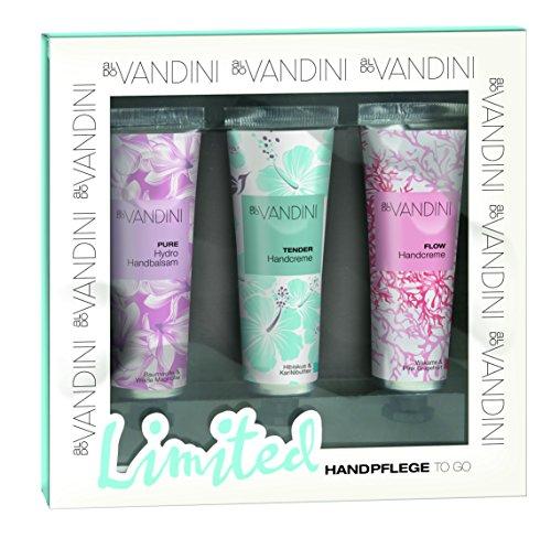 aldoVANDINI Geschenkset Handpflege to go Edition III, 1er Pack (3 x 30 ml)